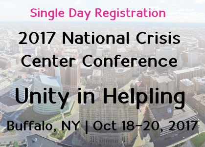2017 Conference - Single Day Registration