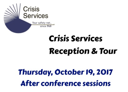 Crisis Services Happy Hour-Reception and Tour